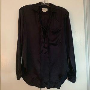 Silk Black Ralph Lauren Blouse